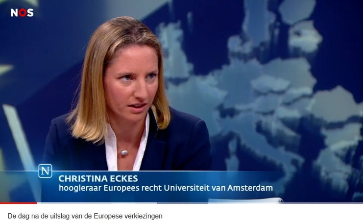 Christina Eckes interview NOS Nieuwsuur, 27 May 2019
